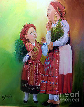 Granny and Child by Isaura Campos