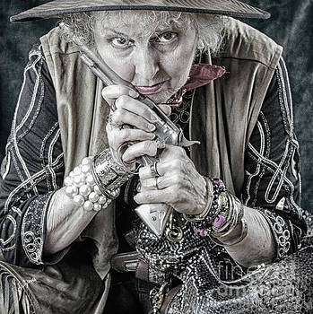 Granny With Her Gun  by Steven Digman