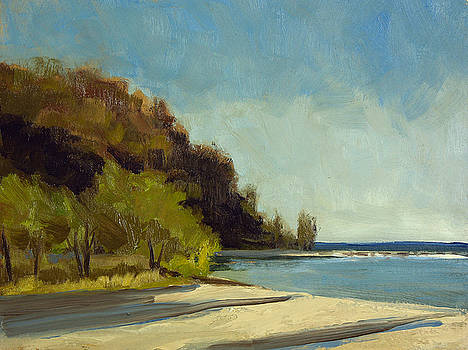 Grant Park Beach No. 4 by Anthony Sell