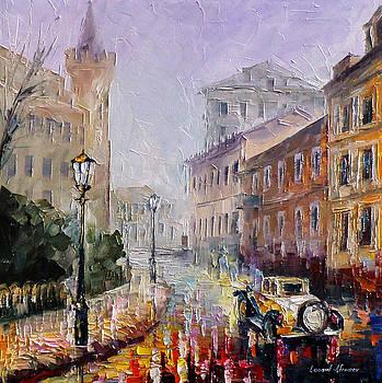 Grantchester Duke - PALETTE KNIFE Oil Painting On Canvas By Leonid Afremov by Leonid Afremov