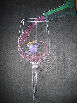 Grape Bath by Tonya Hoffe