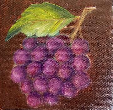 Grapes 9 by Susan Dehlinger