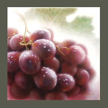 Grapes by Denis Eutikhiev