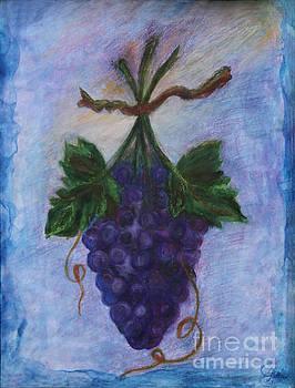 Grapes by Elena Fattakova