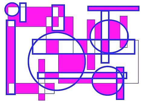 Graphic Purple by Art Speakman