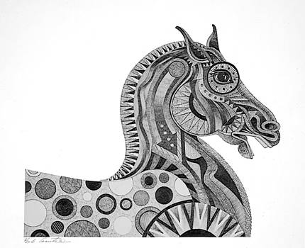 Graphite Horse by Bob Coonts