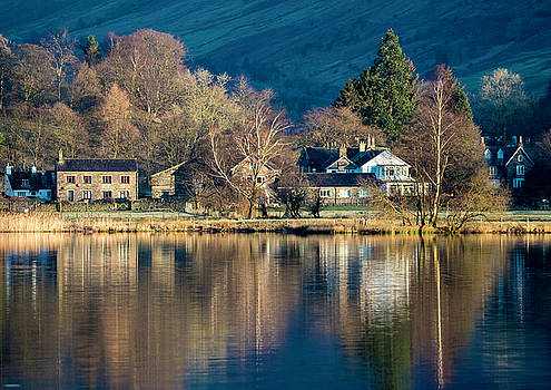 Grasmere Shoreline by Russell Millner