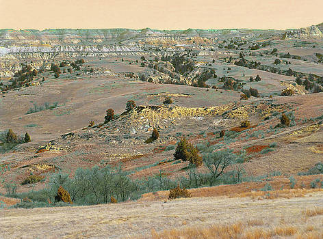 Grasslands Badlands Magic by Cris Fulton