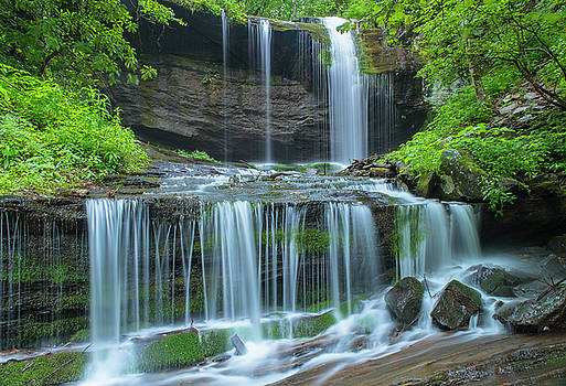 Ranjay Mitra - Grassy Creek Waterfall in Great Smoky Mountains National Park