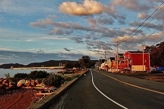 Grassy Point and the Sea Wall by Thomas McGuire