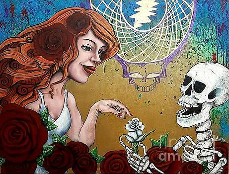 Grateful Dead by Alima Newton
