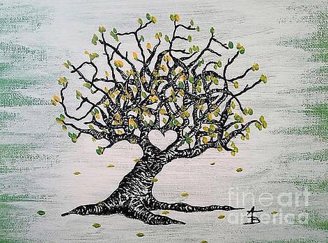 Grateful Love Tree by Aaron Bombalicki