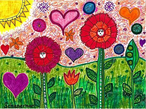 Gratitude Garden by Susan Schanerman