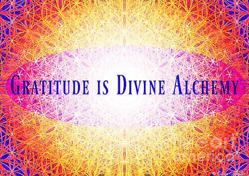 Gratitude is Divine Alchemy. by Eileen Anglin