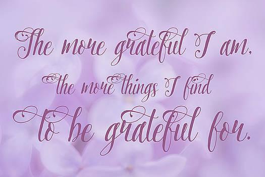 Gratitude by Ramona Murdock