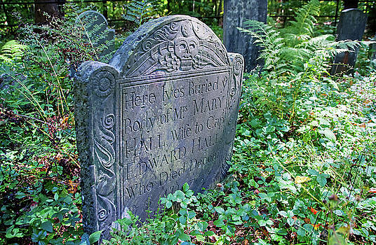 Grave of Mary Hall by Wayne Marshall Chase
