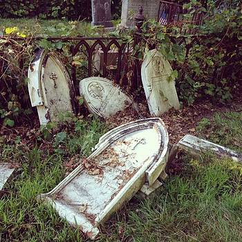 #graveyard #gravestones #cemetery by Patricia And Craig