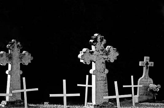 Graveyard Where they all rest by Brian Sereda