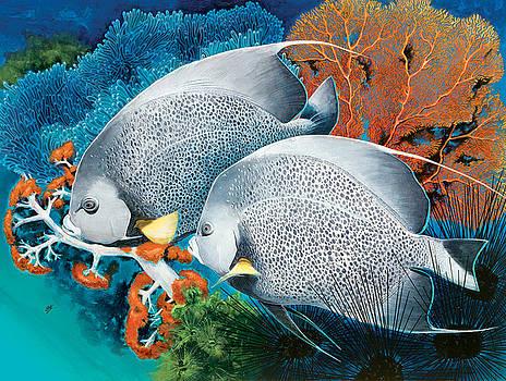 Gray Angels by Durwood Coffey