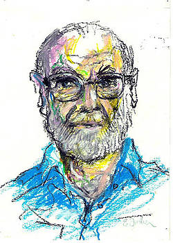 Gray Beard and Glasses by Edward Farber