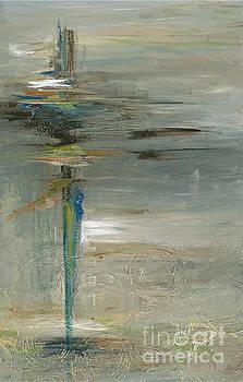 Cross in Gray by Nadine Rippelmeyer