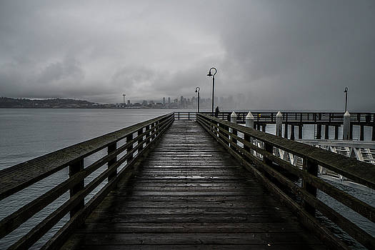 Gray Days In West Seattle by Matt McDonald