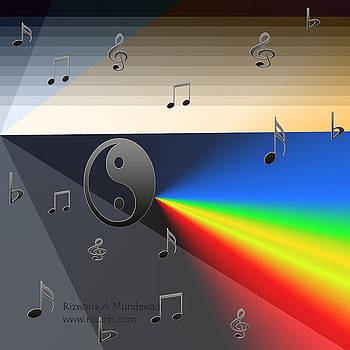 Rizwana Mundewadi - Gray Music Rainbow Rays