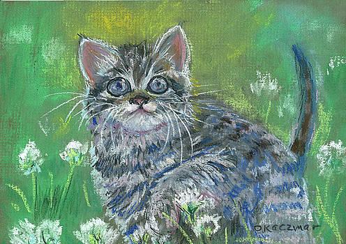 Olga Kaczmar - Gray Tabby Kitten 3