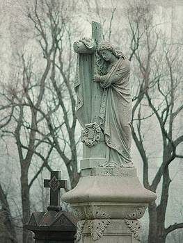 Gothicrow Images - Gray Angel In Winter Light