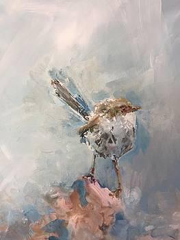 Gray Wren by Karen Ahuja