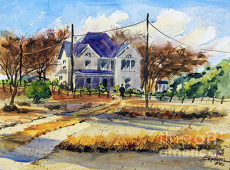 Grayson County Farmhouse by Ron Stephens