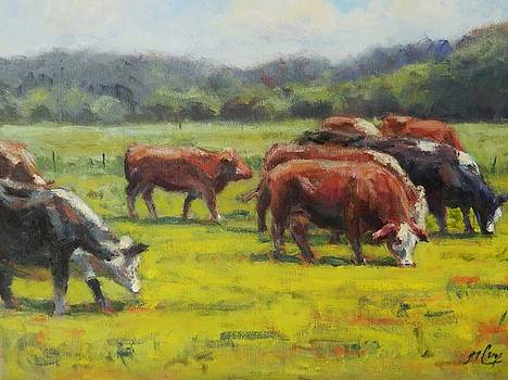 Grazing in the Grass by Michael Camp