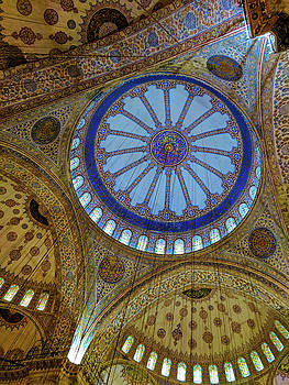 Great Blue Dome by Ty Agha