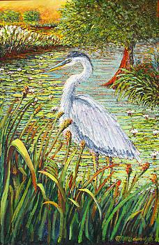 Great Blue Heron by Thomas Michael Meddaugh