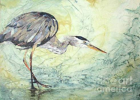 Great Blue by Patricia Henderson