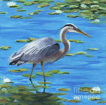 Great Blue by Susan Monty