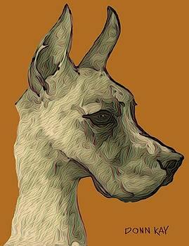 Great Dane by Donn Kay