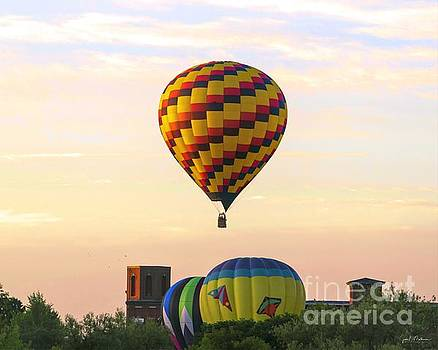 Great Falls Balloon Festival I by Jan Mulherin