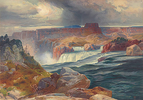 Ricky Barnard - Great Falls of Snake River, Idaho 1876
