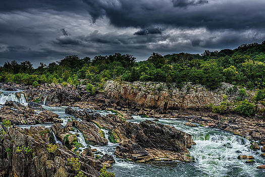 Great Falls of the Potomac by Thomas R Fletcher