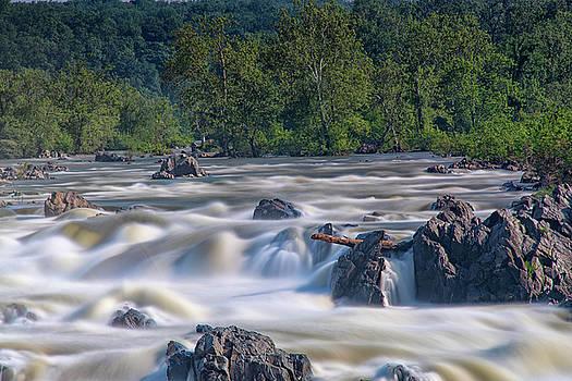 Great Falls Park 2 by Dennis Clark