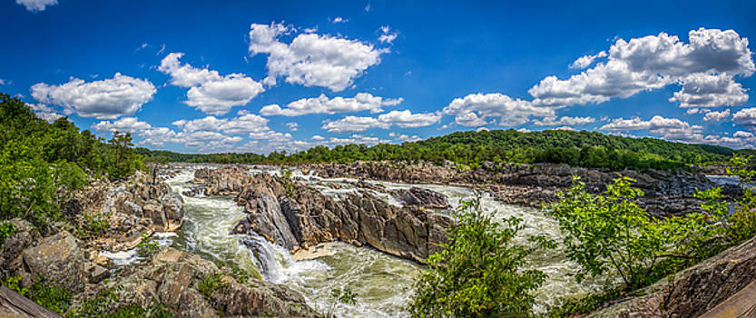 Great Falls Rapids - Panorama by Andrew King