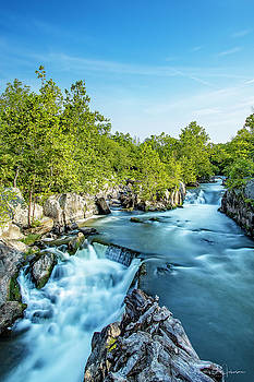 Great Falls Silk by Gregory Johnson