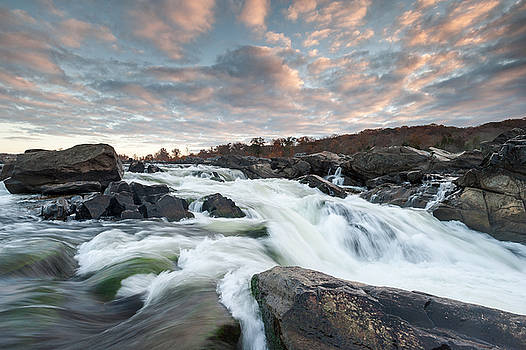 Great Falls Sunrise over the Potomac River by Mark VanDyke