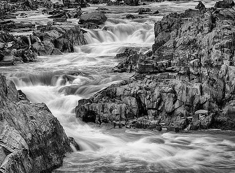 Great Falls Water by Georgette Grossman