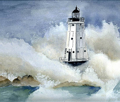 Great Lakes Lighthouse by Karen Frye