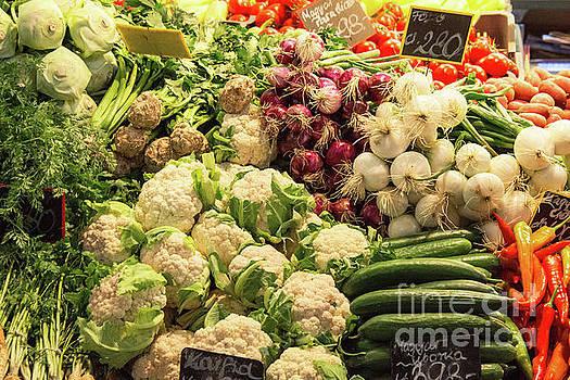 Bob Phillips - Great Market Hall Fresh Vegetables