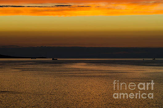Great Orme sunset by Steev Stamford