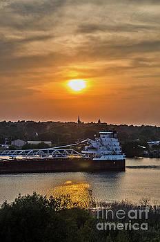 Great Republic Sailing Vessel by Sue Smith