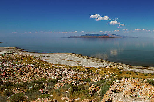 Great Salt Lake, Utah by Kimberly Blom-Roemer